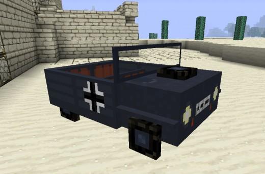 Мод на машины для Minecraft 1.2.5 - Моды для Майнкрафт 1.2.5, Моды для Minecraft 1.2.5